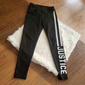 Justice | Black tights- size 7